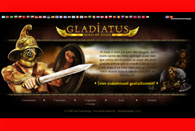 screenshot de www.gladiatus.fr