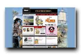 screenshot de www.glenatbd.com