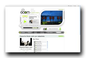 screenshot de www.goomradio.fr