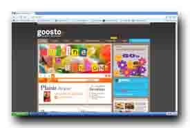 screenshot de www.goosto.fr