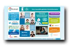 screenshot de www.groupefrancemutuelle.fr