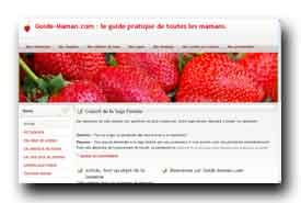 screenshot de www.guide-maman.com