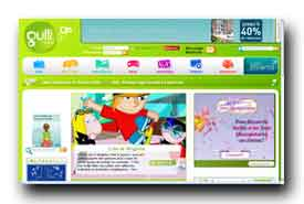 screenshot de www.gulli.fr