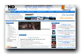 screenshot de www.hdnumerique.com