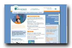 screenshot de www.info-retraite.fr
