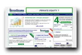 screenshot de www.investirama.com