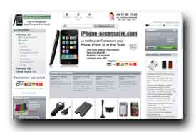 screenshot de www.iphone-accessoire.com