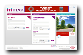 screenshot de www.itimap.com