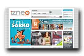 screenshot de www.izneo.com