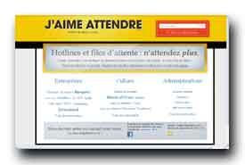 screenshot de www.jaimeattendre.com