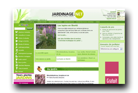 screenshot de www.jardinage.net