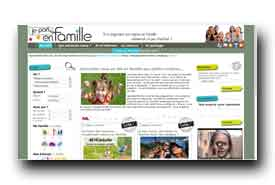 screenshot de www.jeparsenfamille.com