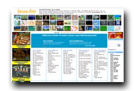 screenshot de www.jeux.fm
