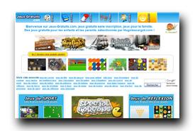 screenshot de www.jeux-gratuits.com