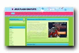 screenshot de www.jeuxflashgratuits.fr