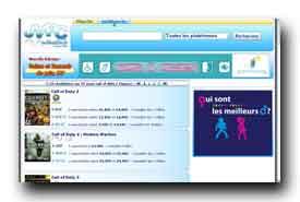 screenshot de www.jeuxvideopascher.net