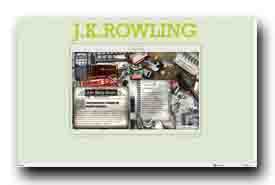 screenshot de www.jkrowling.com