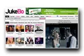 screenshot de www.jukebo.fr