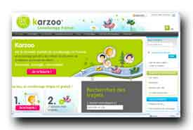 screenshot de www.karzoo.fr