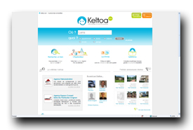 screenshot de www.keltoa.com