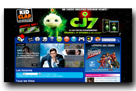 screenshot de www.kidclap.fr