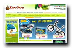 screenshot de www.king-jouet.com