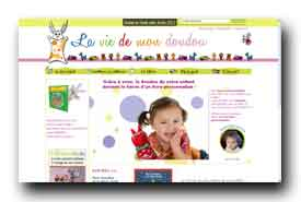 screenshot de www.laviedemondoudou.com
