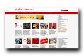 screenshot de www.lavielitteraire.fr