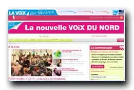 screenshot de www.lavoixaufeminin.fr