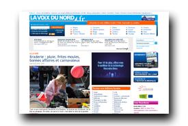 screenshot de www.lavoixdunord.fr