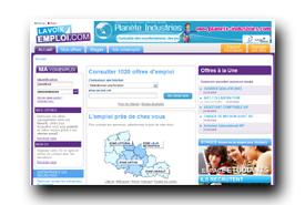 screenshot de www.lavoixemploi.com