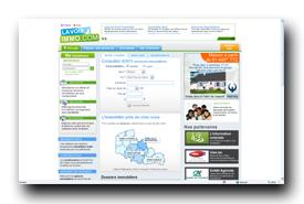 screenshot de www.lavoiximmo.com