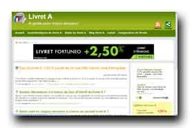 screenshot de www.le-livret-a.fr