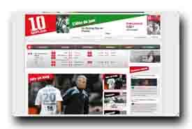 screenshot de www.le10sport.com