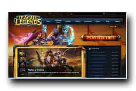screenshot de www.leagueoflegends.com