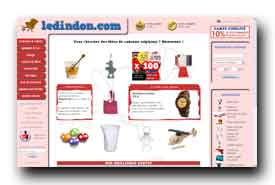 screenshot de www.ledindon.com