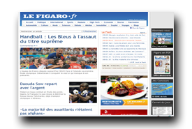 screenshot de www.lefigaro.fr