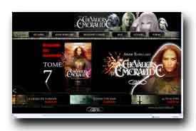 screenshot de www.leschevaliersdemeraude.fr