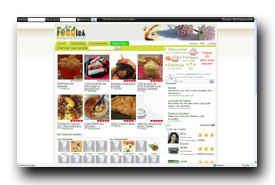 screenshot de www.lesfoodies.com
