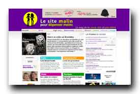 screenshot de www.lesitemalin.com