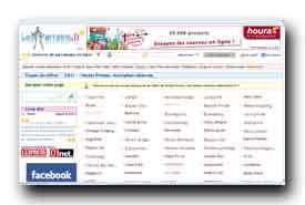 screenshot de www.lesparrains.fr/ventes-privees