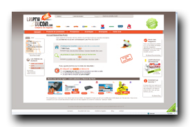screenshot de www.lesprixducoin.com