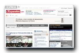 screenshot de www.lexpansion.com