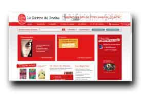 screenshot de www.livredepoche.com
