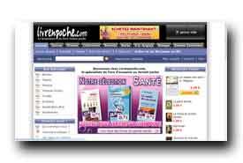screenshot de www.livrenpoche.com