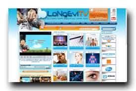 screenshot de www.longevitv.com