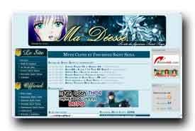 screenshot de www.ma-deesse.com