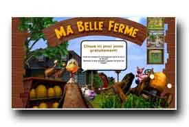 screenshot de www.mabelleferme.fr