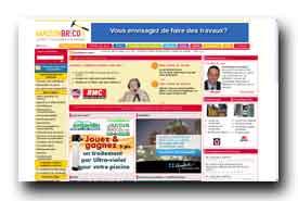 screenshot de www.maisonbrico.com