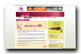 screenshot de www.m6.fr/emission-maman_cherche_l_amour/